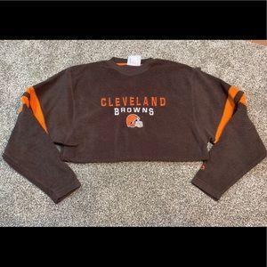 Vintage NFL Cleveland Browns Crew Neck - size md